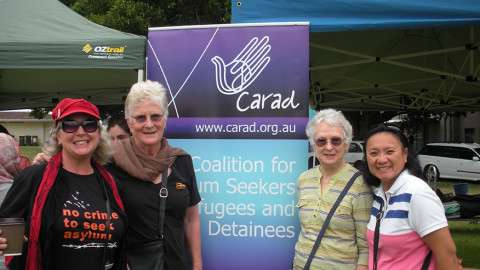 MAIN - Sisters at refugee day