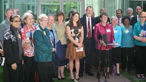 Leaders in Canberra